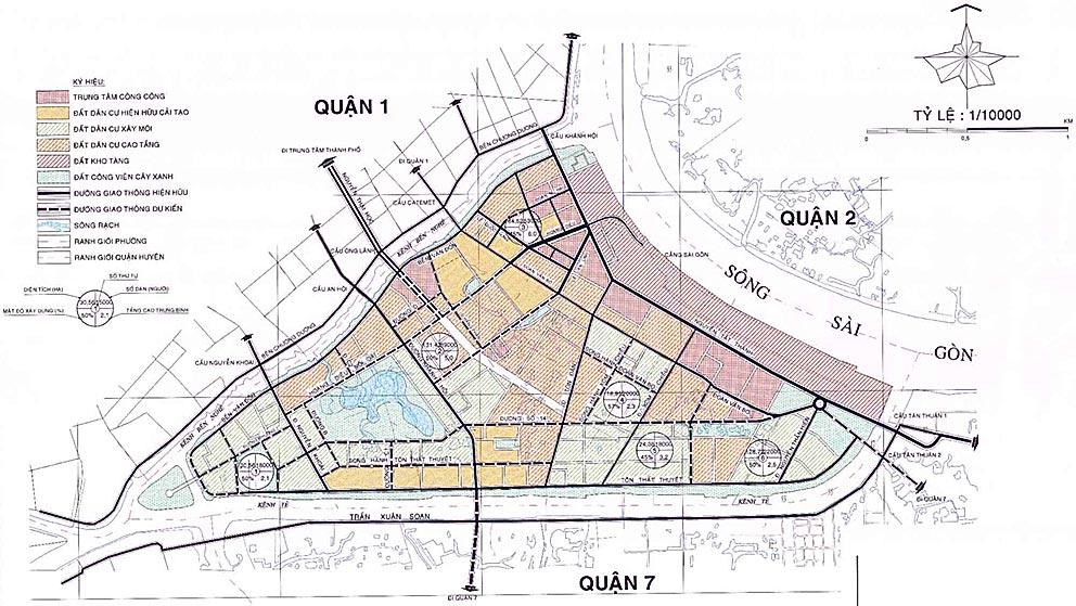 Điều chỉnh quy hoạch Quận 4 | An Phú Long
